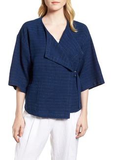 Eileen Fisher Belted Kimono Jacket