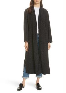 Eileen Fisher Belted Long Kimono Jacket (Regular & Petite)