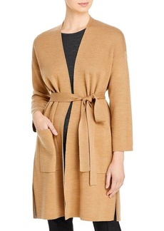Eileen Fisher Belted Wrap Cardigan