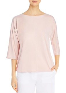Eileen Fisher Boat Neck Boxy Top