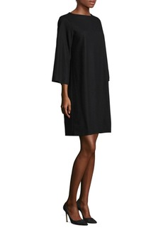 Eileen Fisher Boil Jersey Wool Dress