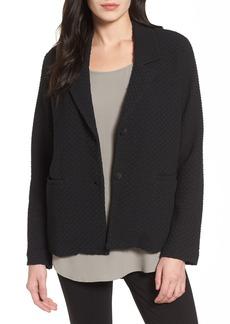 Eileen Fisher Boxy Jacquard Jacket