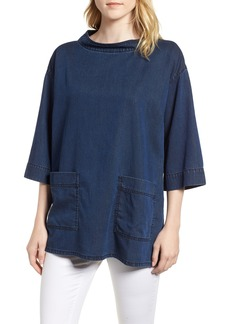 Eileen Fisher Boxy Soft Cotton Top