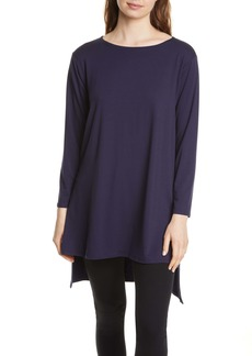 Eileen Fisher Boxy Stretch Tencel® Lyocell Tunic