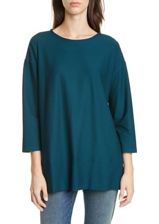 Eileen Fisher Bracelet Sleeve Tunic (Regular & Petite)