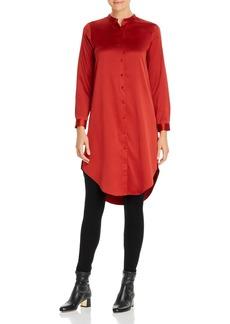 Eileen Fisher Button-Down Tunic Top