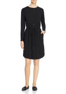 Eileen Fisher Button-Front Dress