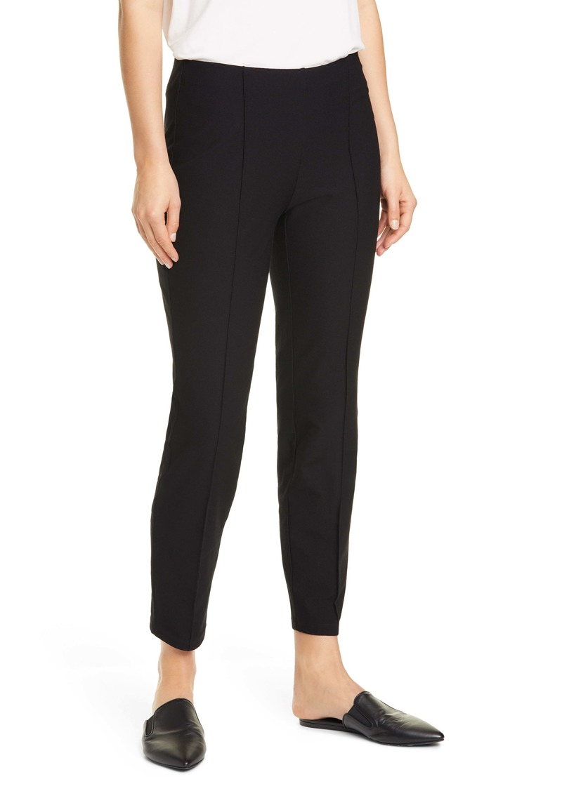 Eileen Fisher Center Pleat Ankle Pants