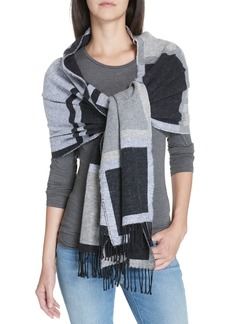 Eileen Fisher Checked Scarf