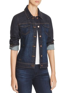 Eileen Fisher Classic Collar Denim Jacket