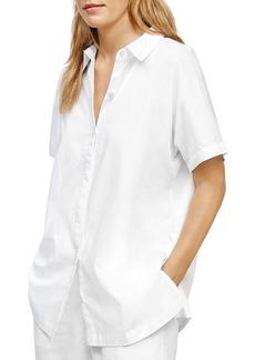 Eileen Fisher Classic Collared Shirt