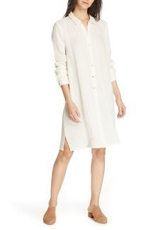 574f0125a9 On Sale today! Eileen Fisher Twinkle Organic Linen Shift Dress