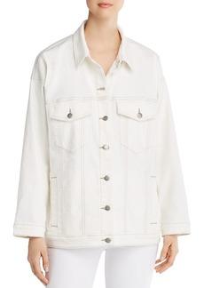 Eileen Fisher Classic Denim Trucker Jacket