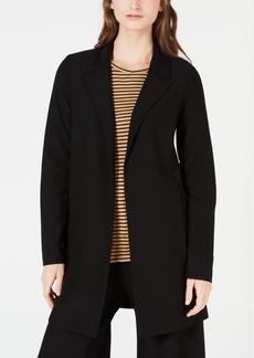 Eileen Fisher Washable Crepe Classic Long Jacket, Regular & Petite