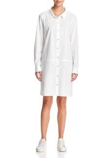 Eileen Fisher Classic Poplin Shirt Dress