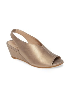 Eileen Fisher Clay Slingback Wedge Sandal (Women)