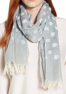 Eileen Fisher Clip Dot Scarf