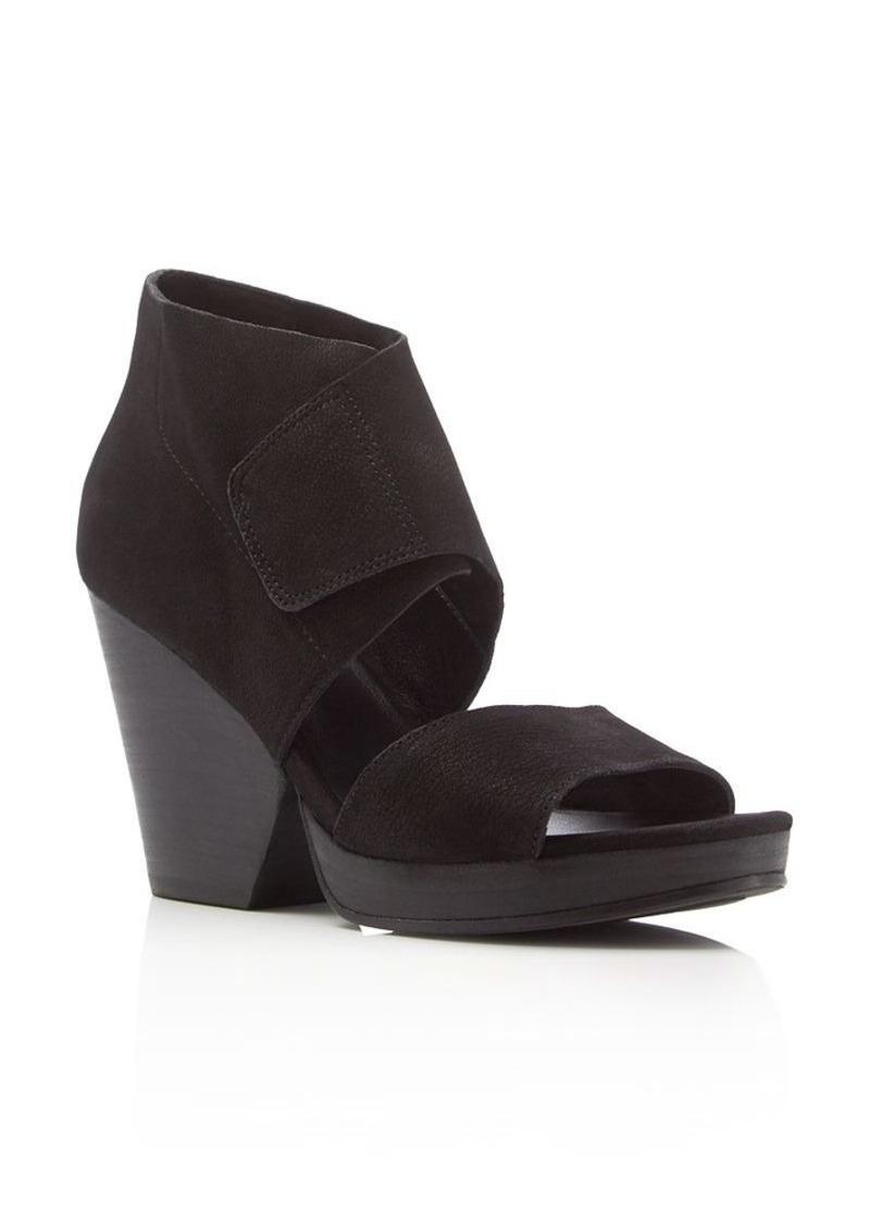 Eileen Fisher Clip Open Toe High Heel Sandals