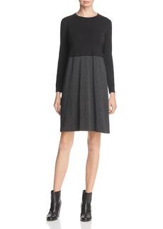 Eileen Fisher Color Block Knit Dress