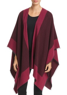 Eileen Fisher Color-Block Poncho - 100% Exclusive