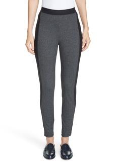 Eileen Fisher Contrast Panel Tweed Leggings