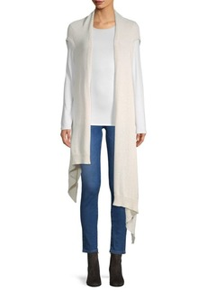 Eileen Fisher Cotton-Blend Wrap Top
