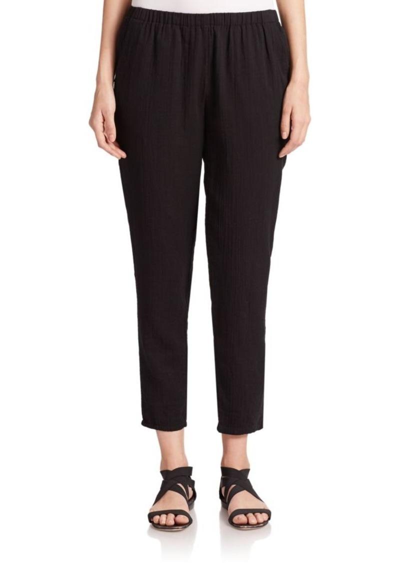 Eileen Fisher Cotton Gauze Pants