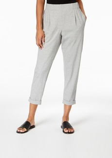 Eileen Fisher Organic Cotton Slouchy Pants, Regular & Petite