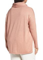 4c726dee0c2a3 Eileen Fisher Eileen Fisher Cowl Neck Ultrafine Merino Wool Sweater ...