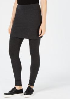 Eileen Fisher Cozy Jersey Skirted Leggings, Regular & Petite, Created for Macy's