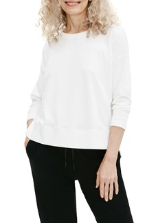 Eileen Fisher Crewneck Boxy Top