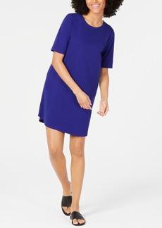 Eileen Fisher Crewneck Cotton T-Shirt Dress
