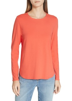Eileen Fisher Crewneck Top (Regular & Petite)