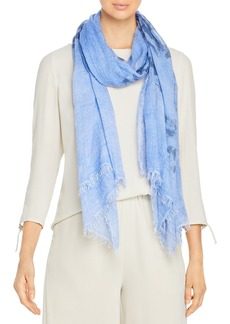 Eileen Fisher Crinkle Tie Dyed Scarf