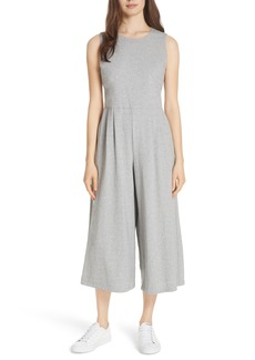 Eileen Fisher Crop Cotton Knit Jumpsuit (Regular & Petite)