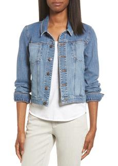 Eileen Fisher Crop Denim Jacket (Nordstrom Exclusive)