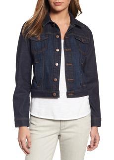 Eileen Fisher Crop Denim Jacket (Regular & Petite)