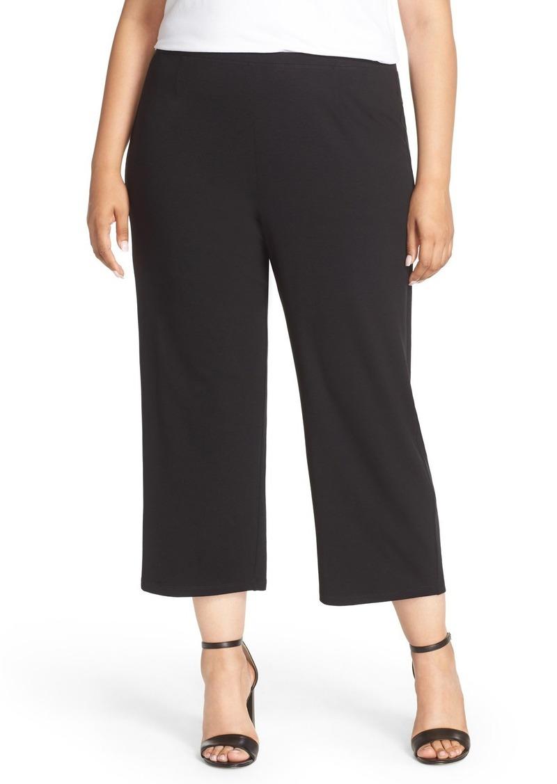 Eileen Fisher Crop Jersey Pants (Plus Size)