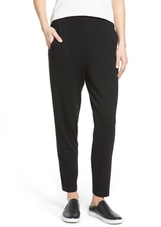 Eileen Fisher Crop Stretch Knit Pants (Regular & Petite)