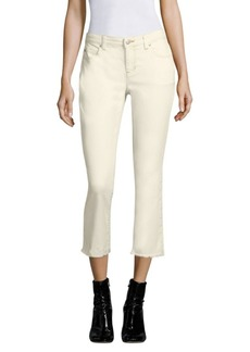Eileen Fisher Cropped Cotton Jeans