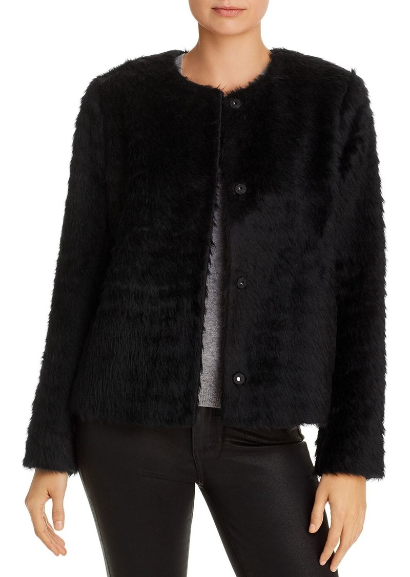 Eileen Fisher Cropped Faux-Fur Jacket - 100% Exclusive