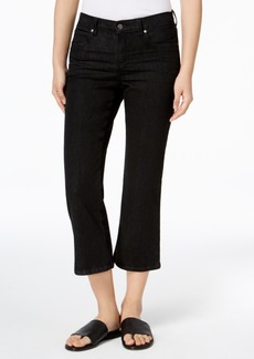Eileen Fisher Organic Cotton Cropped Flared Jeans, Regular & Petite