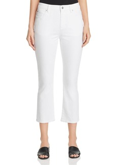 Eileen Fisher Cropped Jeans in White