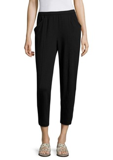Eileen Fisher Cropped Jersey Stretch Pants