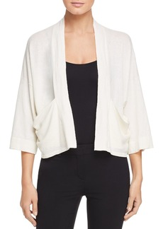 Eileen Fisher Cropped Open Cardigan