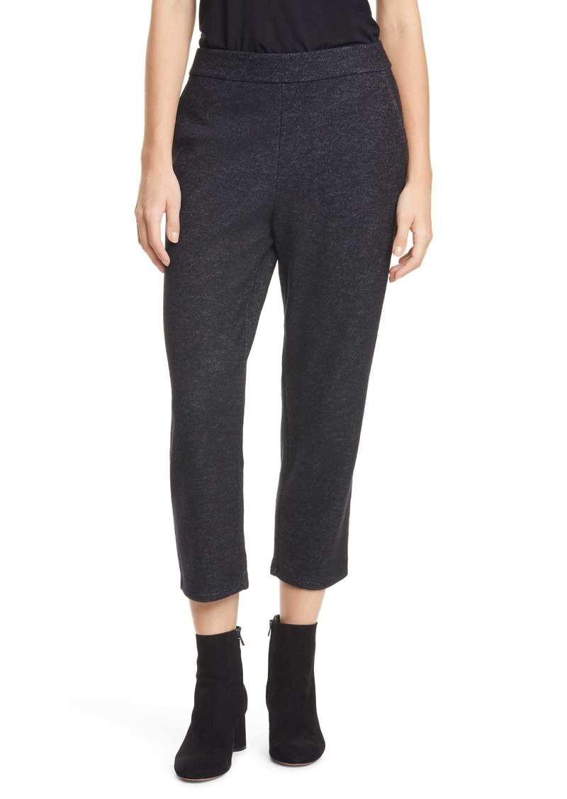 Eileen Fisher Cropped Trousers (Regular & Petite)