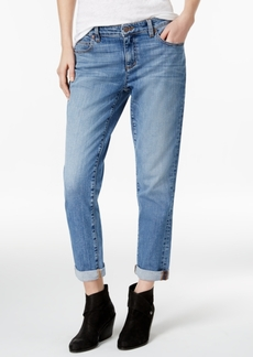 Eileen Fisher Cuffed Boyfriend Jeans, Regular & Petite