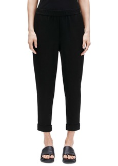 Eileen Fisher Cuffed Slouchy Ankle Pants