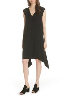 Eileen Fisher Cutout Jersey Shift Dress (Regular & Petite)