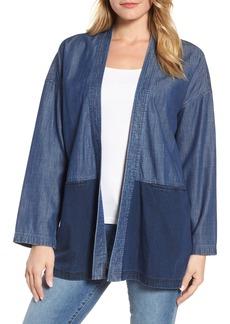 Eileen Fisher Denim Kimono Jacket (Regular & Petite)
